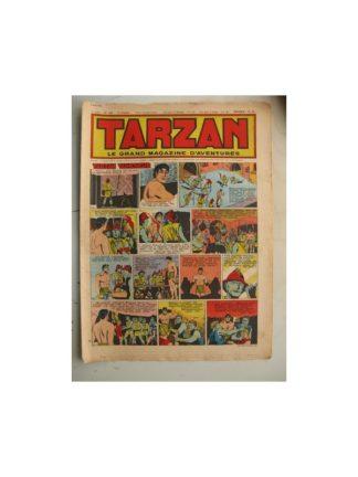 Tarzan Editions Mondiales n°189 - 6 mai 1950 - Hogarth/Giffey/René la Risposte/Buffalo Bil/Le Chevalier idéal/Dick River