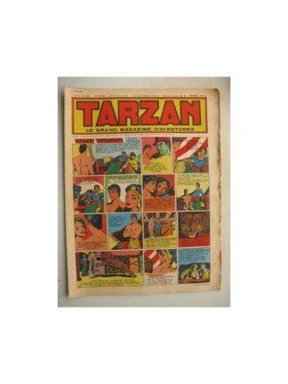 Tarzan Editions Mondiales n°193 - 3 juin 1950 - Hogarth/Giffey/René la Risposte/Buffalo Bil/Le Chevalier idéal/Dick River