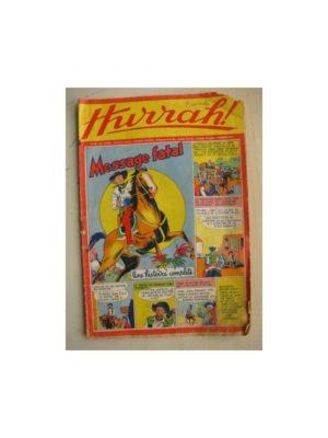 HURRAH N°62 (25 décembre 1954) Editions Mondiales