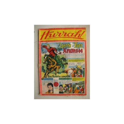 HURRAH N°97 (27 août 1955) Alerte à Fort Krumsoe/Robin des bois/Ace champion de l'espace