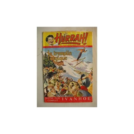 HURRAH N°109 (19 novembre 1955) Le tremplin tragique/Robin des bois/Ace champion de l'espace/Duck Hurricane/Ivanohé/Chandra