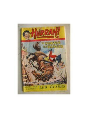 HURRAH N°110 (26 novembre 1955) Le Fortin en danger/Robin des bois/Ace champion de l'espace/Duck Hurricane/Chandra