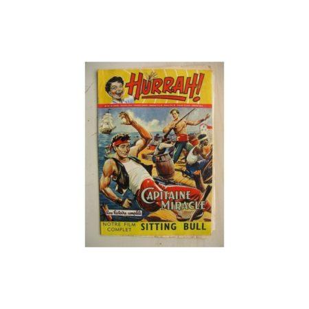 HURRAH N°112 (10 décembre 1955) Capitaine Miracle/Sitting Bull/Robin des bois/Ace champion de l'espace/Chandra