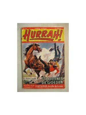 HURRAH N°115 (31 décembre 1955) Les colines de Golden/D'Artagnan chevalier de la reine/Jean Meltout (Robert Moreau)