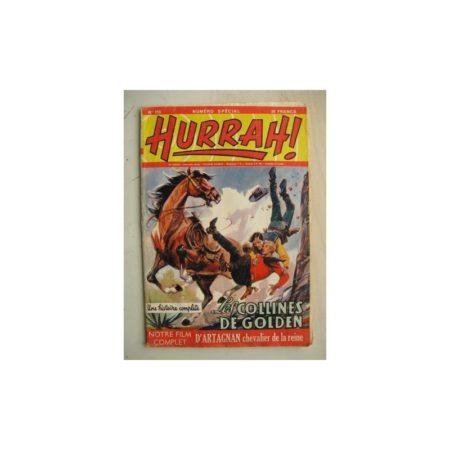 HURRAH N°115 (31 décembre 1955) Les colines de Golden/D'Artagnan chevalier de la reiner/Jean Meltout (Robert Moreau)
