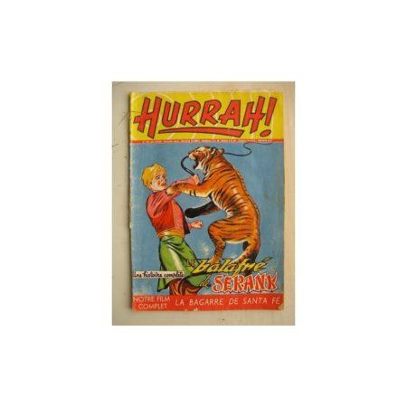 HURRAH N°118 (21 janvier 1956) Le balafré de Serank/la bagarre de Santa Fé/Robin des Bois/Duck Hurricane/L'insaisissable