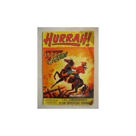 HURRAH N°119 (28 janvier 1956) Le feu à l'Arizona/Conquérants du nouveau Monde/Robin des Bois/Duck Hurricane/L'insaisissable