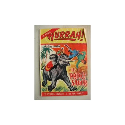HURRAH N°133 (5 mai 1956) Le prince Sagor/Au pays des Koriaks/Robin des Bois/Duck Hurricane/L'insaisissable