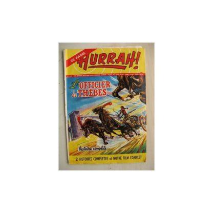 HURRAH N°134 (12 mai 1956) L'Officier de Thèbes/L'amulette d'argent/Robin des Bois/Duck Hurricane/L'insaisissable