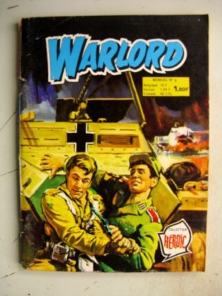 WARLORD N°6 Mission destruction (Collection Heroïc) Aredit 1976