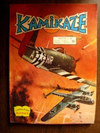 KAMIKAZE N°22 Vol de nuit (AREDIT 1979)