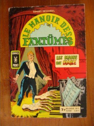 LE MANOIR DES FANTOMES ALBUM 3252 (N°13-14) Les mains du diable (ARTIMA 1980)