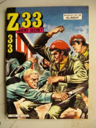Z33 AGENT SECRET N°136 (IMPERIA 1984)