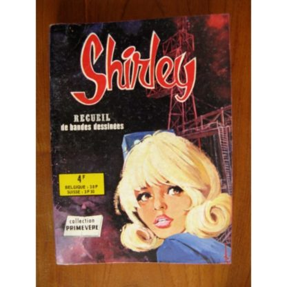 SHIRLEY ALBUM RECUEIL 704 (N°26-27-28-29) AREDIT COLLECTION PRIMEVERE