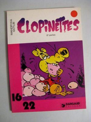 CLOPINETTES 2E PARTIE (GOTLIB – MANDRYKA) 16/22 DARGAUD