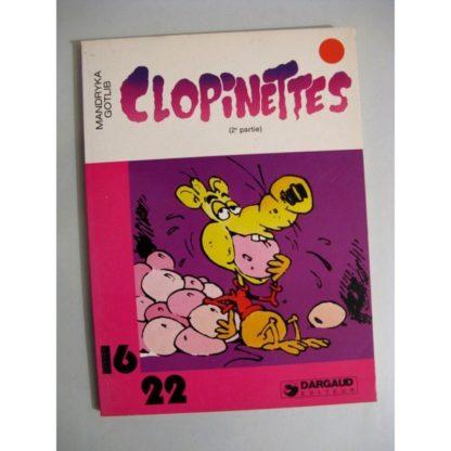 CLOPINETTES 2E PARTIE (GOTLIB - MANDRYKA) 16/22 DARGAUD