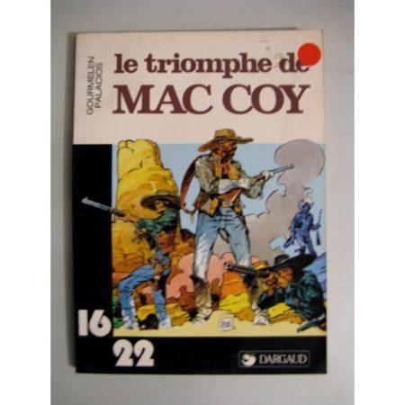 LE TRIOMPHE DE MAC COY (GOURMELEN - PALACIOS) 16/22 DARGAUD