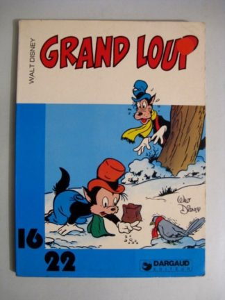 GRAND LOUP (WALT DISNEY) 16/22 DARGAUD