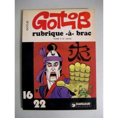 RUBRIQUE A BRAC TOME 3 - 2E PARTIE (GOTLIB) 16/22 DARGAUD