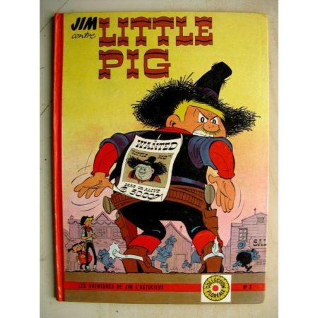 JIM CONTRE LITTLE PIG - PIERRE CHERI - FLEURUS 1963