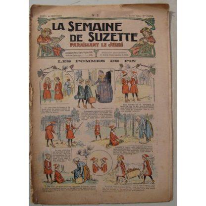 La Semaine de Suzette 10e année n°2 (1914) Les pommes de pin (Guydo)