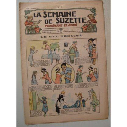 La Semaine de Suzette 10e année n°3 (1914) Le bal déguisé (Léonce Burret)