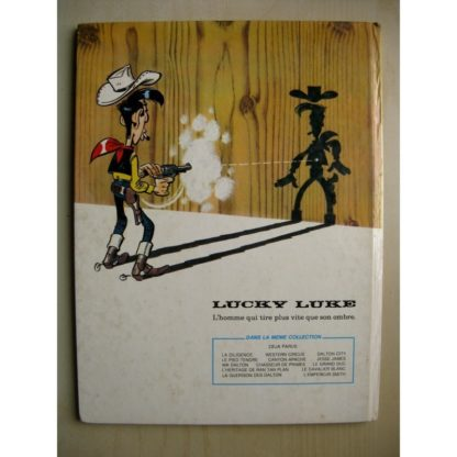 LUCKY LUKE TOME 45 - L'MPEREUR SMITH (GOSCINNY - MORRIS) DUPUIS 1976 (EO)