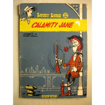 LUCKY LUKE TOME 30 - CALAMITY JANE (GOSCINNY - MORRIS) DUPUIS 1970