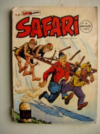 SAFARI N°57 Katanga Joe (Mon Journal 1972)