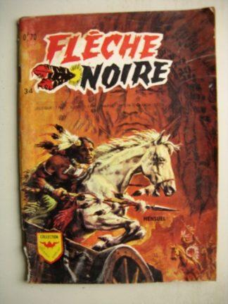 FLECHE NOIRE N°34 Un vagabond(AREDIT 1971)