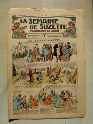 La Semaine de Suzette 11e année n°12 (1915) Le Blanc Castel (Pinchon) Bleuette (costume d'infirmière)