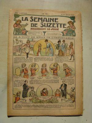 La Semaine de Suzette 11e année n°20 (1915) L'importance de la place des choses (Raymond de la Nézière)