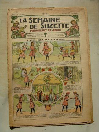 La Semaine de Suzette 11e année n°22 (1915) La fée des roseaux (Léonce Burret)
