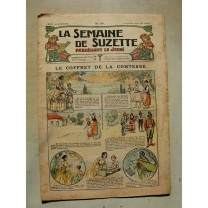La Semaine de Suzette 11e année n°34 (1915) Le coffret de la comtesse (Raymond de la Nézière)