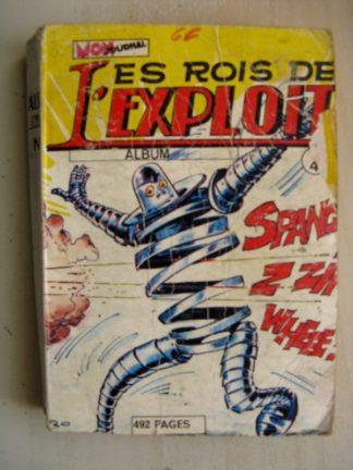 LES ROIS DE L'EXPLOIT - ALBUM N°4 (N°10-11-12) MON JOURNAL 1975