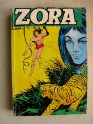 ZORA ALBUM N°17 (N°50-51-52) Kali Fils de la Jungle - Grand Prix (JEUNESSE ET VACANCES 1979)