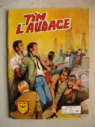 TIM L'AUDACE N°23 Aredit 1974 (Le secret de la Petroleum Compagnie)