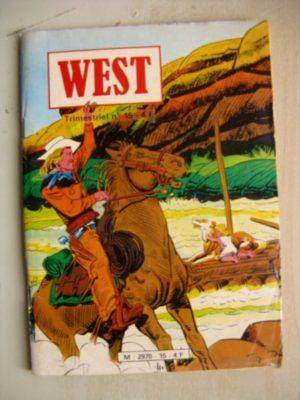 WEST N°15 BUFFALO BILL (JEUNESSE ET VACANCES 1981)