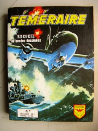 TEMERAIRE ALBUM RELIE N°715 (N°169-170-172-173) AREDIT COLLECTION COURAGE EXPLOIT 1974