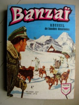 BANZAI 1e série ALBUM 625 (N°51-52-53-54-55-56) AREDIT 1973