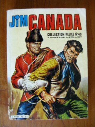 JIM CANADA ALBUM 49 (n°275-276-277) IMPERIA 1981