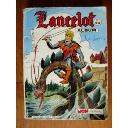 LANCELOT ALBUM 43 (N° 145-146-147) MON JOURNAL 1986