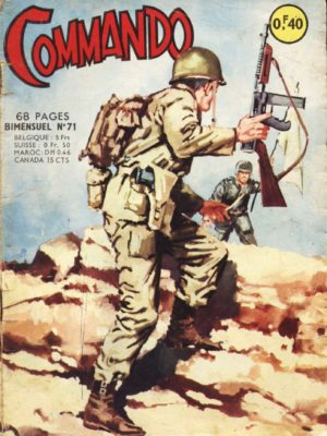 COMMANDO N°71 Arme secrète (Artima 1964)