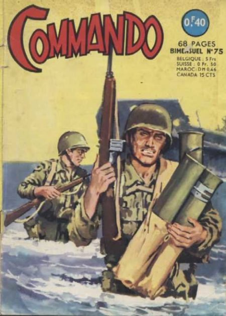COMMANDO N°75 Le plan de Kwaï Lung (Artima 1964)