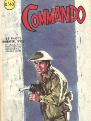 COMMANDO N°82 L'évasion (Artima 1965)