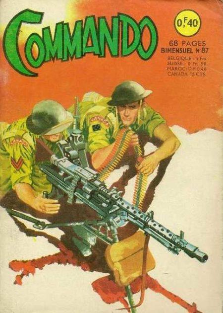 COMMANDO N°87 L'accusé (1e partie) ARTIMA 1965)