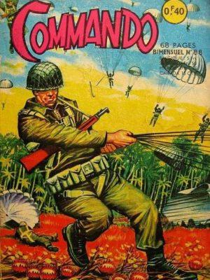 COMMANDO N°88 L'accusé (2e partie) Artima 1965