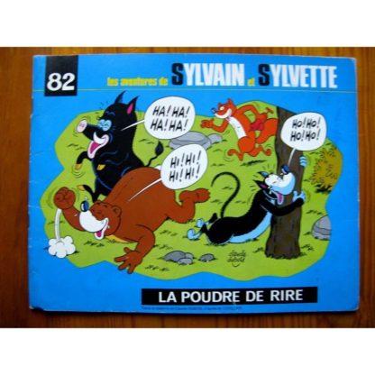 SYLVAIN ET SYLVETTE N°82 LA POUDRE DE RIRE (FLEURUS 1976)