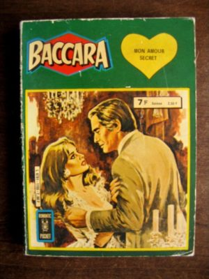 BACCARA ALBUM 1155 (N°5-6) ROMANTIC POCKET – AREDIT 1980