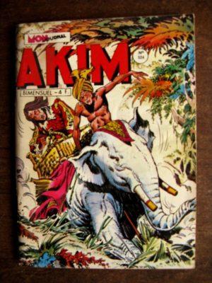 AKIM (1e série) N°524 – La fumée rouge (Mon Journal 1981)